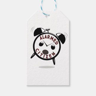 ALARMED CITIZEN PACK OF GIFT TAGS