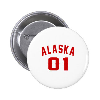 Alaska 01 Birthday Designs 2 Inch Round Button