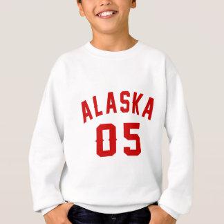 Alaska 05 Birthday Designs Sweatshirt