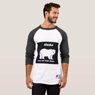 Alaska 2 Save our polar bears T-Shirt