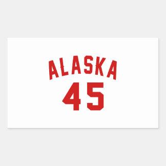 Alaska 45 Birthday Designs