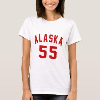 Alaska 55 Birthday Designs T-Shirt
