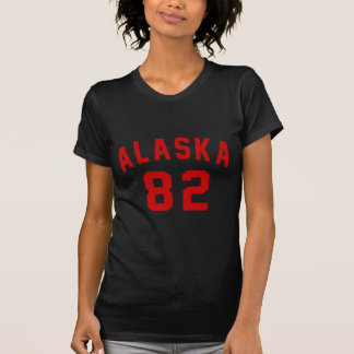 Alaska 82 Birthday Designs T-Shirt