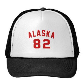 Alaska 82 Birthday Designs Trucker Hat