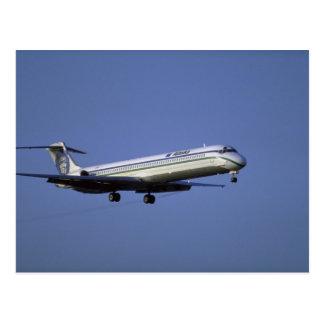 Alaska Airlines MD-80 Postcard