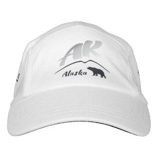 Alaska (AK) Kodiak brown bear - Black Logo Hat