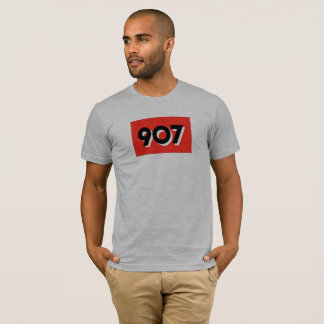 Alaska Area Code Red T-Shirt