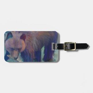 Alaska Bear Luggage Tag