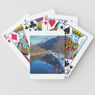 alaska bicycle playing cards