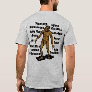 Alaska Bigfoot in Granite T-Shirt