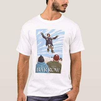 Alaska Blanket Toss - Barrow, Alaska T-Shirt