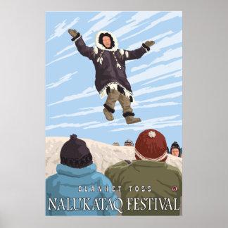 Alaska Blanket Toss - Nalukataq Festival, Alaska Poster