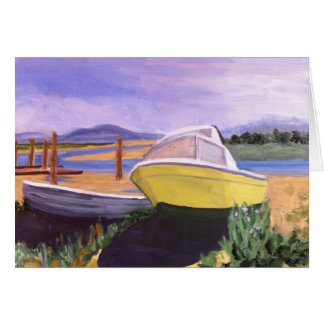 Alaska Boat Cards- Salmon River Card