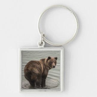 Alaska Brown Bear (Grizzly) Keychain