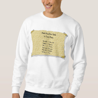 Alaska Brown Bear Sweatshirt