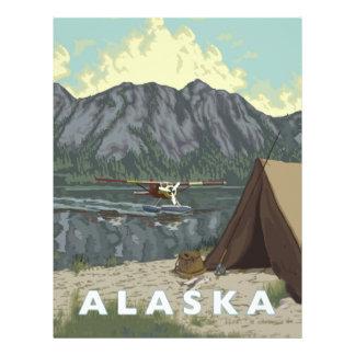 Alaska Bush Plane Souvenirs Personalized Letterhead