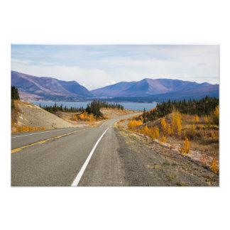 Alaska Canadian Highway Fall Photo Print