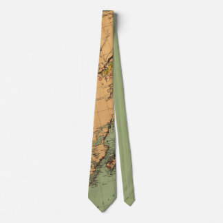 Alaska Coal and Gold Map Tie