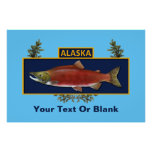 Alaska Combat Fisherman Badge Poster