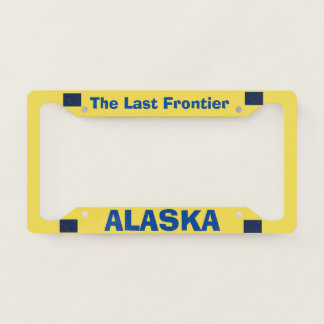 Alaska Custom License Plate Frame