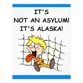 ALASKA CUSTOMIZED LETTERHEAD