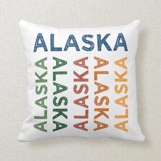 Alaska Cute Colorful Throw Pillow