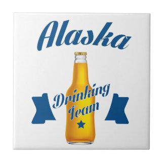 Alaska Drinking team Ceramic Tiles