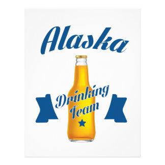 Alaska Drinking team Letterhead