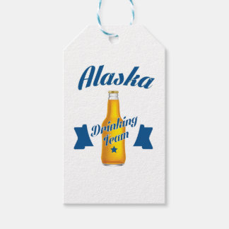 Alaska Drinking team Pack Of Gift Tags