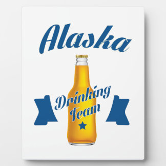 Alaska Drinking team Plaque