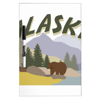 Alaska Dry Erase Whiteboard