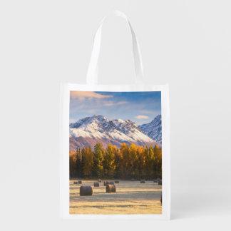 Alaska Farming Reusable Grocery Bag