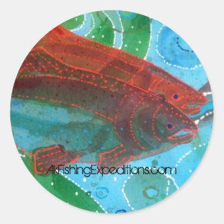 Alaska fish sticker
