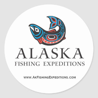 Alaska Fishing Expedtions sticker