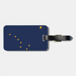 Alaska Flag Luggage Tag