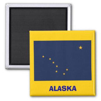 Alaska* Flag Magnet  / Alaska Sjunker Magneten