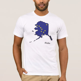 Alaska Flag Map Shirt