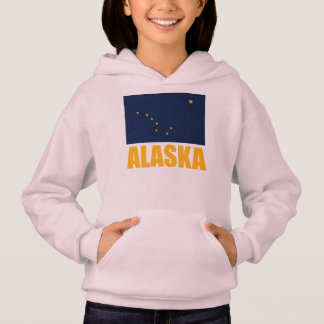 Alaska Flag Yellow Text