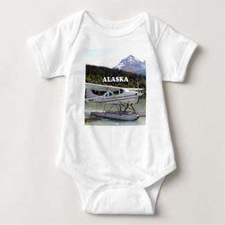 Alaska: Float plane, Trail Lake 3 Baby Bodysuit
