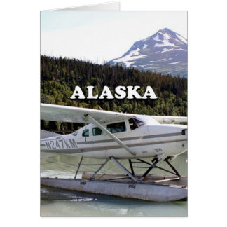Alaska: Float plane, Trail Lake 3 Card