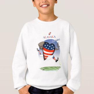 alaska football champs, tony fernandes sweatshirt