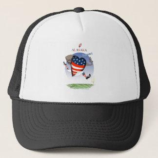 alaska football champs, tony fernandes trucker hat