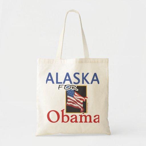 Alaska for Obama Election Tote Bag
