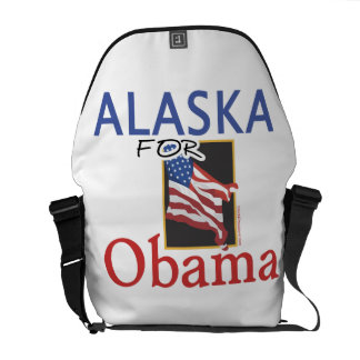 Alaska for Obama Election Courier Bags