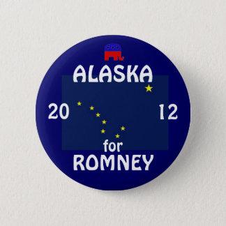 Alaska for Romney 2012 2 Inch Round Button