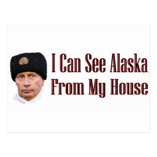 Alaska from my house postcard