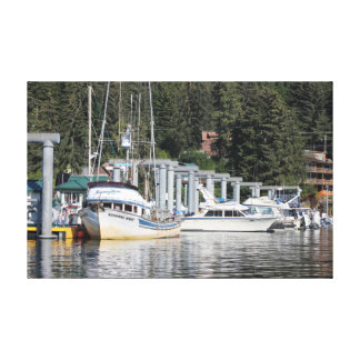 Alaska Harbor 1 Canvas Print