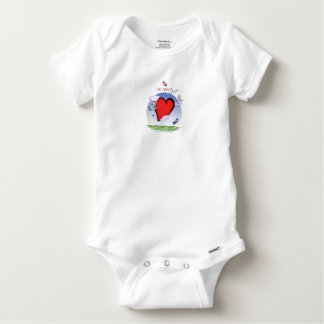alaska head heart, tony fernandes baby onesie