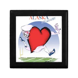 alaska head heart, tony fernandes gift box