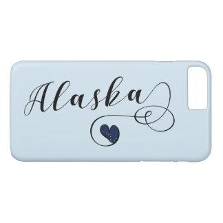 Alaska Heart Mobile Phone Case, Alaskan Case-Mate iPhone Case